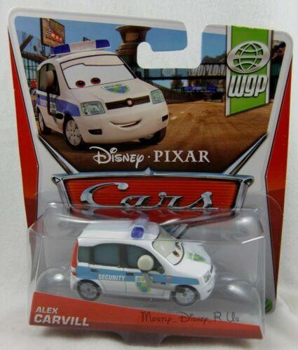Disney Pixar Cars Alex Carvill Welt Grand Prix Federn Serie Druckguss Spielzeug Film- & TV-Spielzeug
