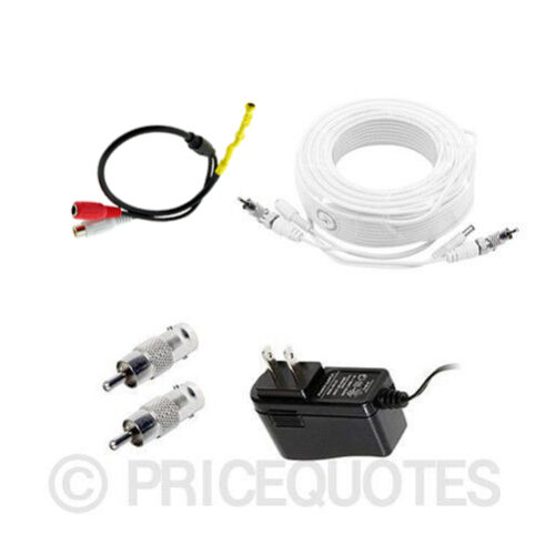 100ft length Microphone Kit for Swann Surveillance Security SRHDR-88050H
