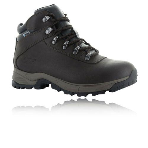 Hi-Tec Mens Eurotrek Lite Waterproof Walking Boots Brown Sports Outdoors