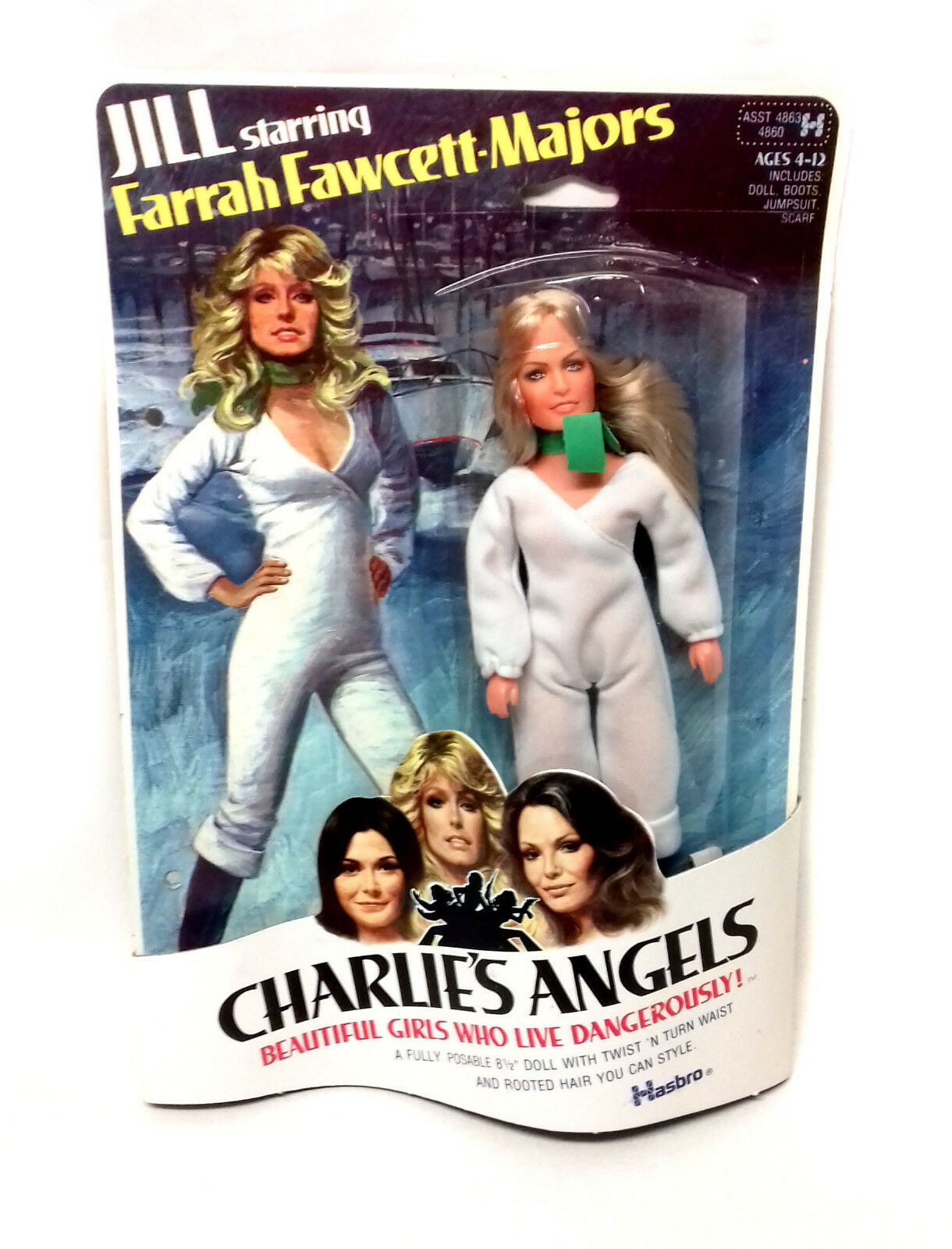 saludable Vintage años años años 70 TV Hasbro 7  Charlies Ángeles Farah Fawcett Juguete Figura Muñeco  punto de venta barato
