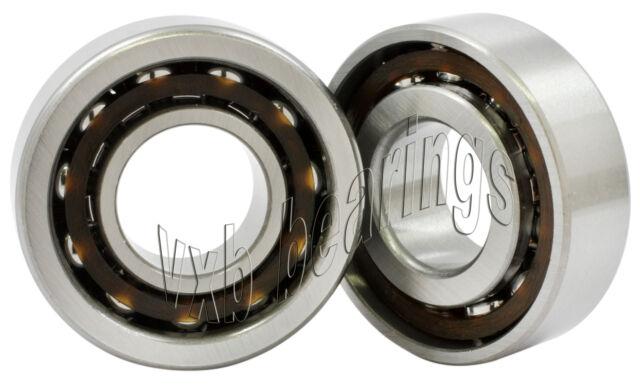 2 Bearing 12mm Bore Angular Contact Ball Screw Bearings