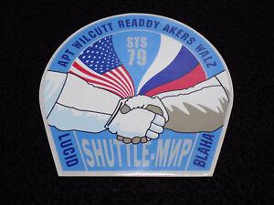 Oficial-Nasa-STS-79-Parche-Forma-Espacio-Shuttle