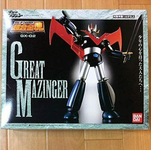 Bandai Soul of Chogokin Great mazinger GX-02 Action Figure Tamashi Nation.