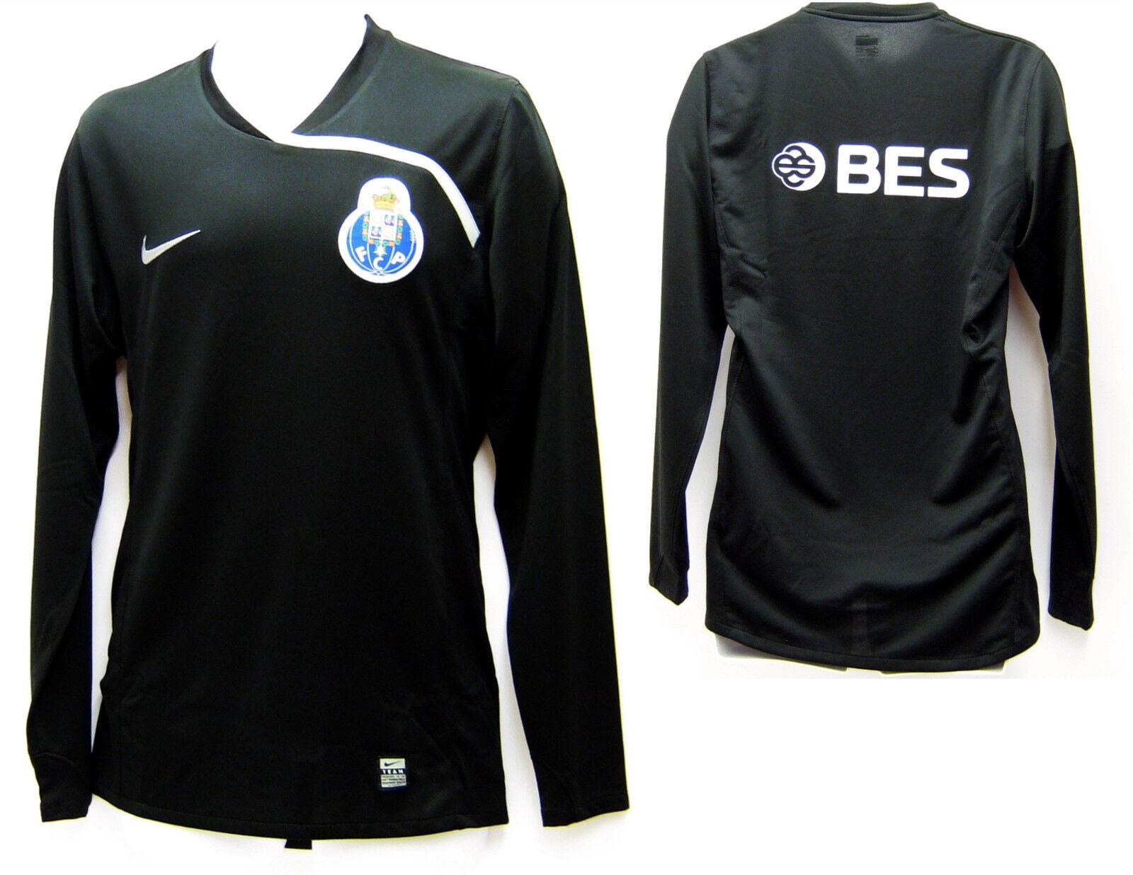 Neu Nike FC FC FC Porto Fußball Club Torwart Gk Hemd 2008-09 Hergestellt in Marokko XL 13b589