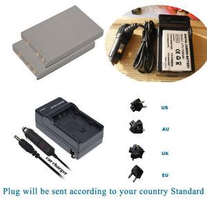 2-pack-Battery-Charger-for-Nikon-Coolpix-EN-EL5-P500-P510-P520-P530-Camera