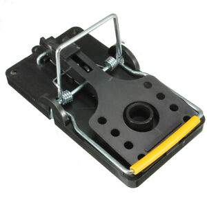Piege-a-Rats-Souris-Tapette-Capteur-Controle-Animaux-Rongeur-Plastique-Metal