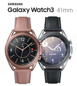 "Samsung Galaxy Watch3 2020 BT + WI-FI + GPS (NO LTE) 41mm 1.2"" Stainless Steel"