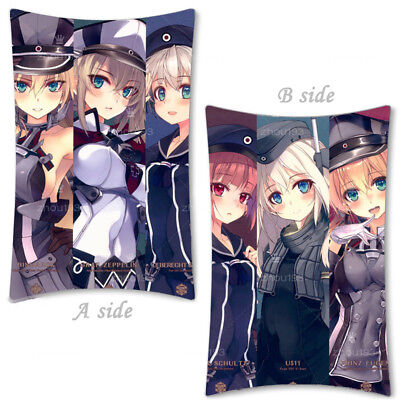 Anime Kantai Collection Hugging Body Pillow Case Cover Cosplay Gift 35*55cm