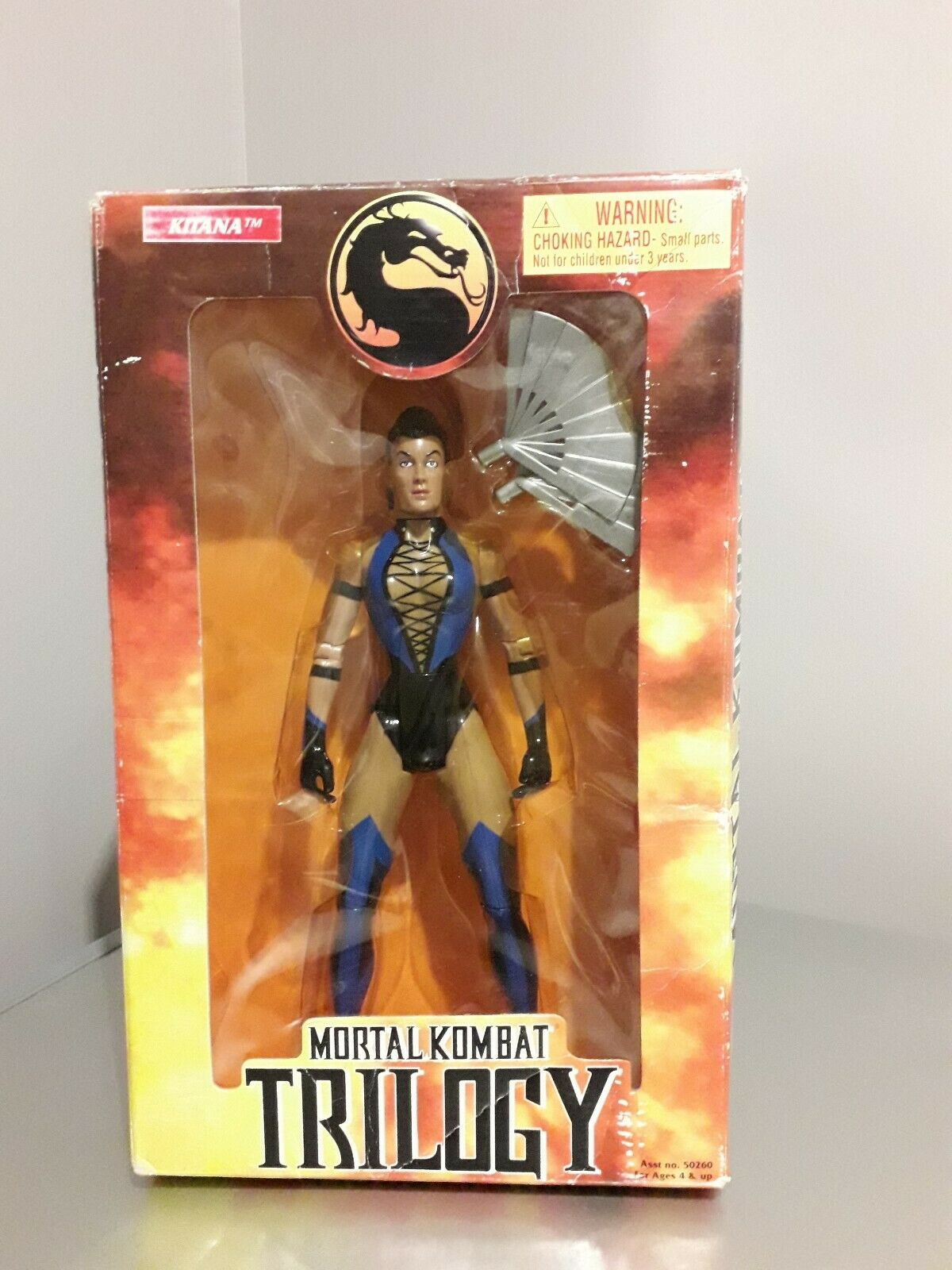 Mortal Kombat Trilogy   Kitana 10'' Action Figure Toy Island 1998 nouveau in Box  en ligne
