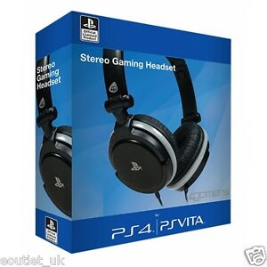 Sony-Con-Licencia-Oficial-Stereo-Gaming-Headset-para-Ps4-amp-Ps-Vita-Playstation-4