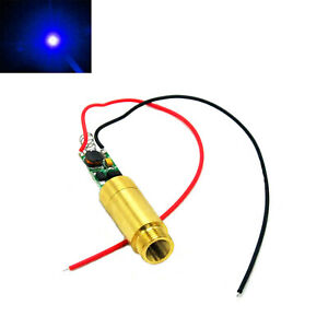 Excellent 100Mw 450Nm Dot Blue Laser Diode Module 3 4 2V Brass W Driver Board Wiring Cloud Venetbieswglorg