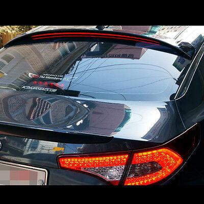 LED Rear Roof Glass Wing Spoiler Black For KIA Optima K5 2016~2018