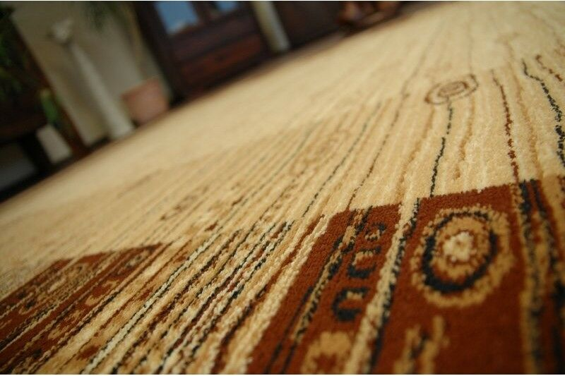 Traditional Agnella Tapis Beige CADRES Modern