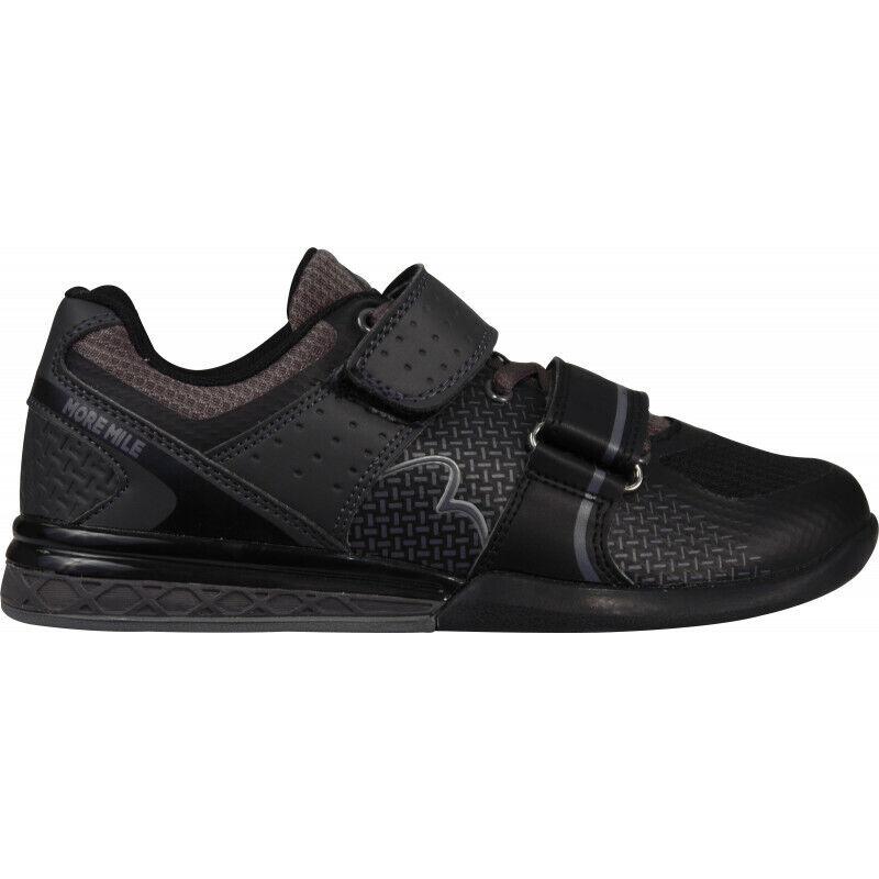 Mujer Hombre More Mile Súper Levanta 3 Crossfit Zapatos de Halterofilia-Negro 1