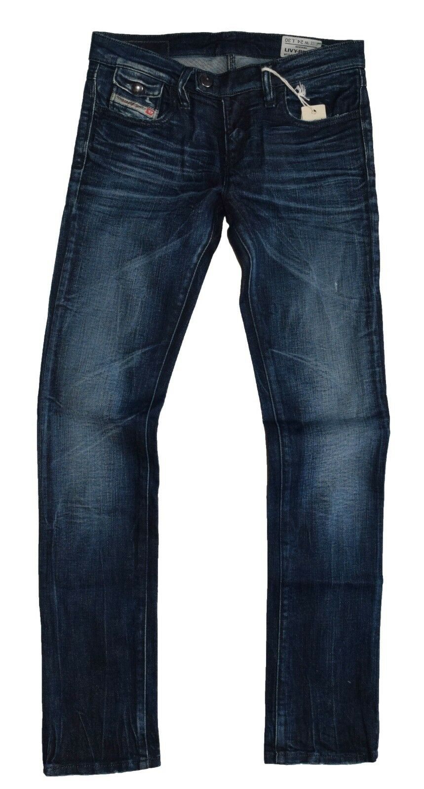 Diesel Livy Biker 008XT Womens jeans Slim Stretch size 26 32 New With Tags