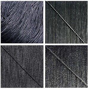 CORDON-FIL-Nylon-Coton-1mm-1-5-2mm-Noir-Black-BRACELET-SHAMBALLA-Perle-Beading