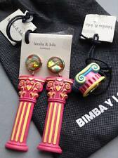 SALE Bimba Y Lola NWT Dust Bag, Column Earrings & Ring, Ancient Greek / Roman