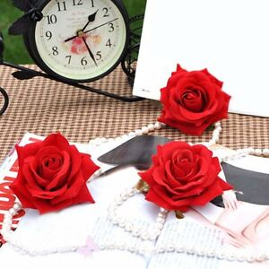 20stk kunstseide rosen bl ten k pfe rosenk pfe blumen f r hochzeit haus dekor ebay. Black Bedroom Furniture Sets. Home Design Ideas