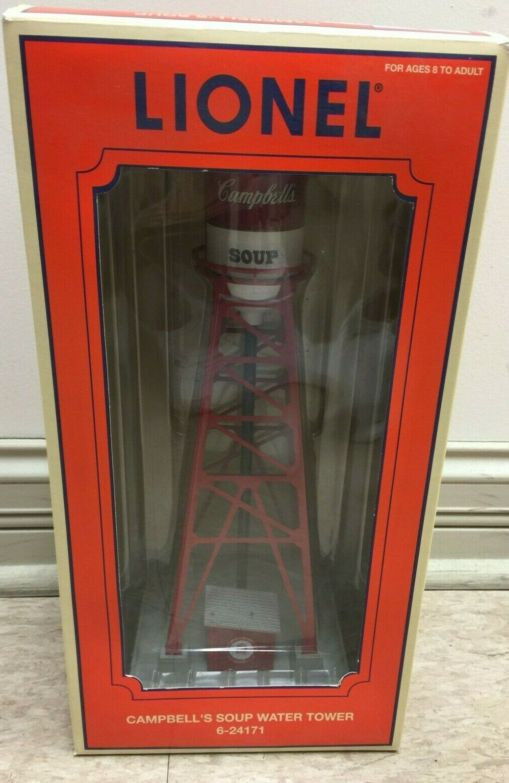 LIONEL CAMPBELL'S SOUP WATER TOWER 624171