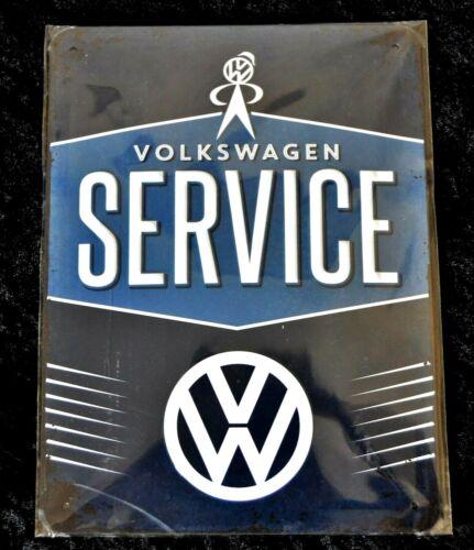 Nostalgic Art  Blechschild VW 15 x 20 cm SERVICE Neu