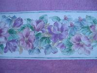 Wallpaper Borders Large Multi Color Floral Tz2131b