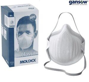 20x Atemschutzmaske MOLDEX 240015 FFP2 Maske 2400 ohne ...
