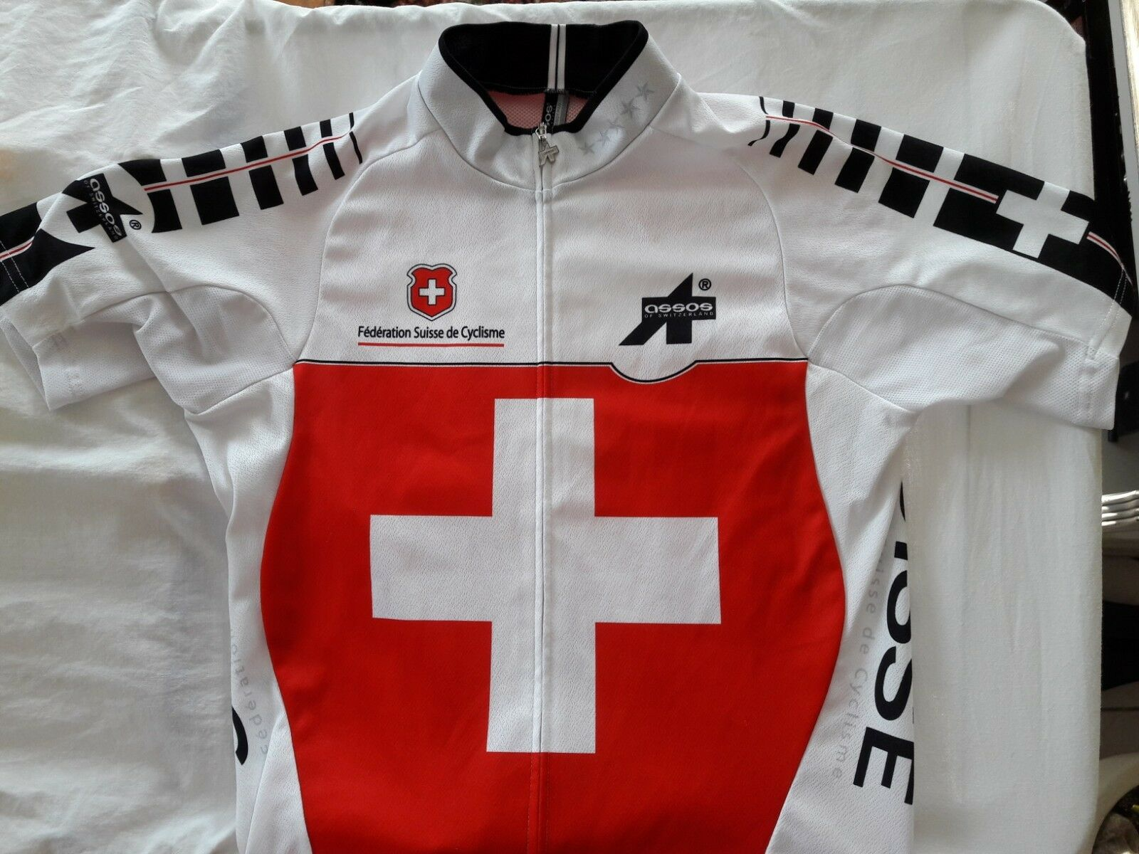 MAGLIA ASSOS FEDERATION SUISSE DE CYCLISM TG.S SS.SuissefedJersey S7