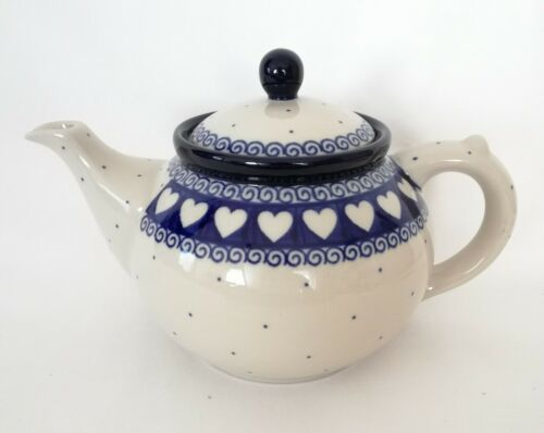 Unikat Geschenk Teekanne 1,0 Liter aus Bunzlauer Keramik Handarbeit nk3265