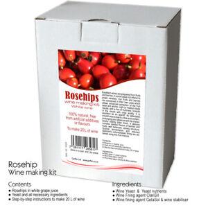 Rosehip-Wine-Making-Kit-20-L-White-Wine-Home-Brew-amp-Wine-Making
