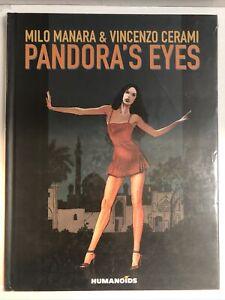 Pandora's Eyes HC (2011) (NM) By Manara And Cerami