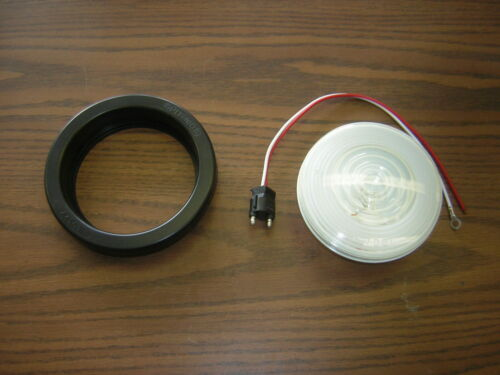 "Optronics 4 Inch Back Up Light Kit Non-Led Truck back up Light 4/"" wire /& Grommet"