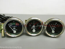 3 Gauge Set Compatible With Farmall Ih 300 330 340 350 400 450 600 650 Gas