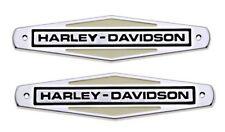 Original Harley-Davidson h-D Tank emblema kit pegamento * 61771-66tb set *