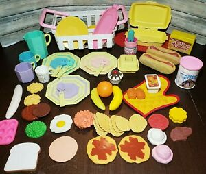 Fisher Price Plastic Pretend Play Food Kids Kitchen Nasta Mcdonalds 1980s Lot Ebay