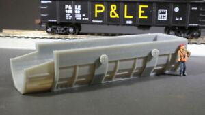 HO-Scale-Czech-Steel-Mill-BOF-Charging-Box-Model-Railroad-Flatcar-Load