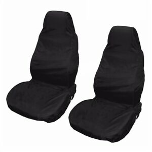 2-x-Universal-impermeable-Protectores-Cubiertas-del-asiento-de-camioneta-coch-Q9