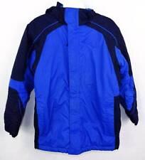 Kid's L.L. Bean Royal/Navy Colorblock Insulated Winter Ski Jacket M 10-12 EUC