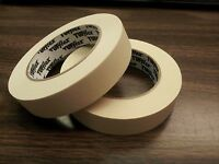 Masking Tape 1 Tufflex Commercial Grade ( 2 Rolls ) 60 Yards Per Roll