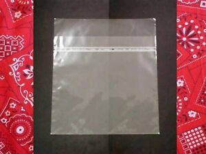 Japan Patent Resealable 100 Plastic Outer Cover For Lp 12