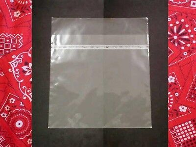"JAPAN PATENT RESEALABLE 100 Plastic Outer Cover for LP/12"" Sleeve TOSERO No.1"