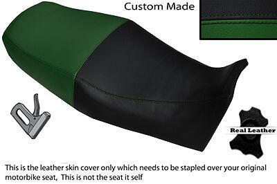 BLACK /& DARK GREEN CUSTOM FITS YAMAHA XJ900 S DIVERSION 94-04 DUAL SEAT COVER