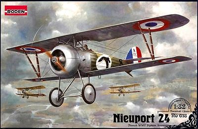 NIEUPORT Ni 24 C1 (ARMEE DE L'AIR / FRENCH AF MKGS ) 1/32 RODEN
