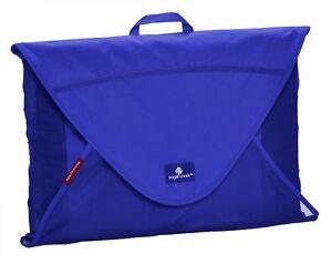 Eagle Creek Pack-it Garment Folder Large Housse à Vêtements Vêtements Sac Bleu Nouveau-afficher Le Titre D'origine Pourtant Pas Vulgaire