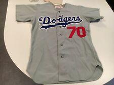 orig. 1970's LOS ANGELES DODGERS # 70 GOODMAN SIZE 40 GAME WORN BASEBALL JERSEY