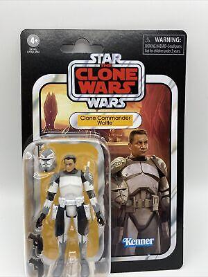 Star Wars Clone Wars Vintage Collection Clone Commander Wolffe CASE FRESH Wolfe