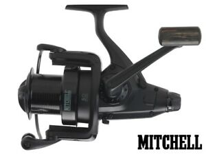 Mitchell-Avocast-Black-Edition-FS-Carpy-Style-Carp-Freespool-Reel-Sz-7000-8000