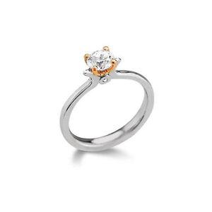 Si1 Diamant Solitaire Bague Couleur Carats 0 Sur Détails 18 Bi 25 H rdxBoeWC