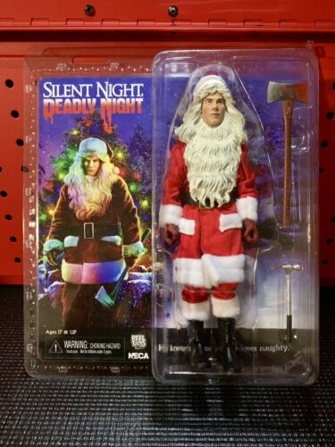 """NECA Silent Night Deadly Night Billy 8/"""" clothed figurine REEL TOYS 2018"""