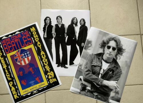 Beatles   3 Set Pack Posters 18X24 New FREE SHIPPING