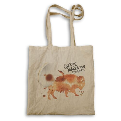 Coffe te hace más fuerte Bull Bolso ff595r